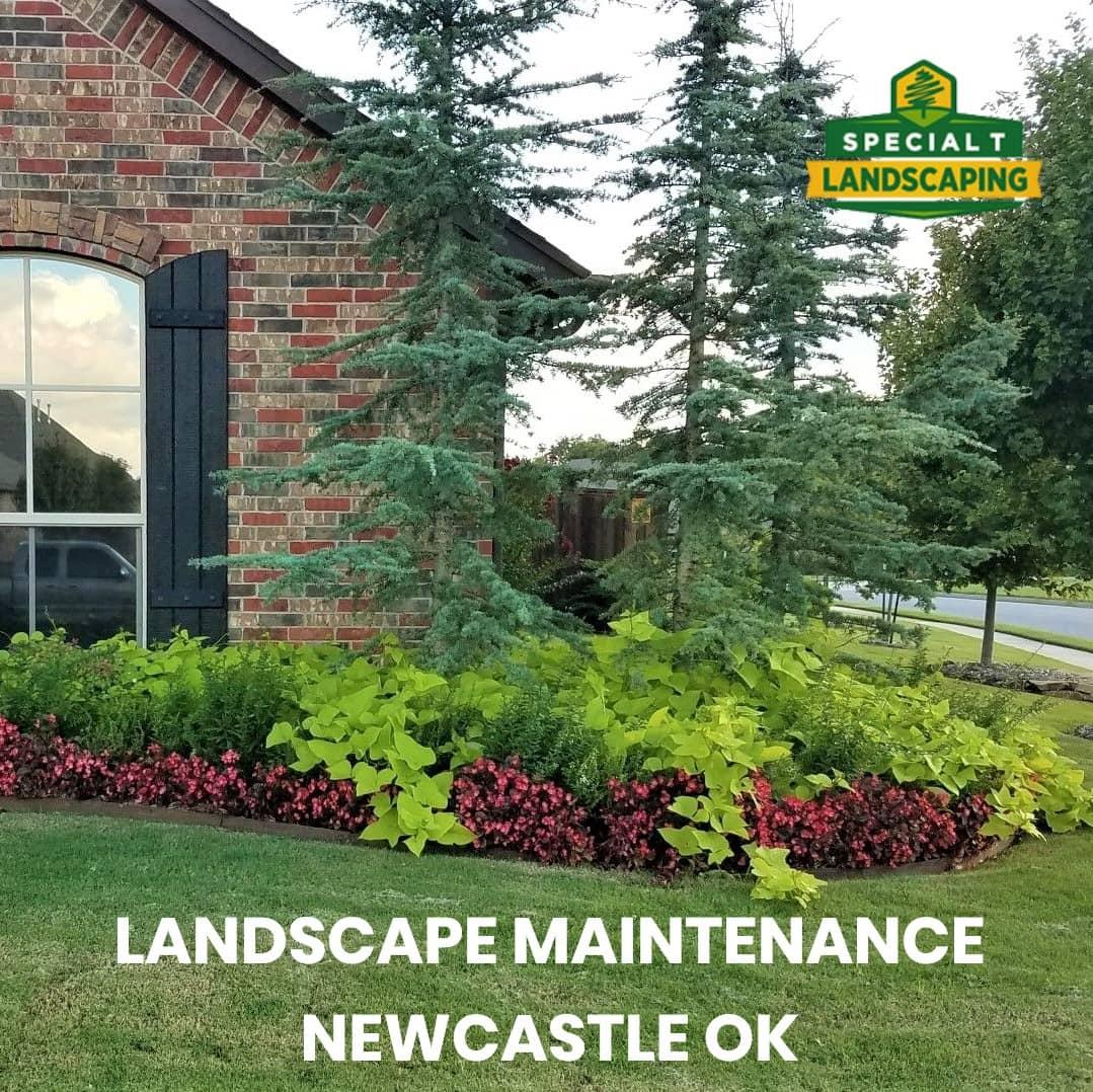 landscape maintenance newcastle ok