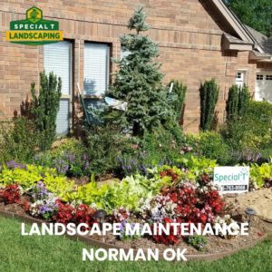 landscape maintenance norman ok