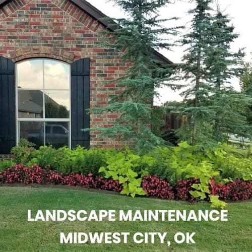 landscape maintenance midwest city