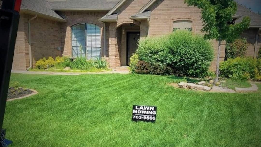 lawn care in south okc